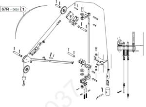Ballastierungsgalgen Potain HD 16